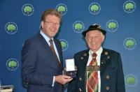 Verleihung des Bundesverdienstkreuzes 1. Klasse an Herrn Rehm