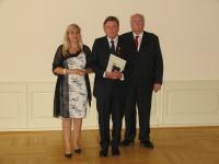 Verleihung des Bundesverdienstkreuzes an Herrn Thomas Böcking