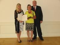 Verleihung des Bundesverdienstkreuzes an Frau Irmtraud Dempert