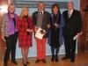 Bild vergrößert sich per Mausklick: Aushändigung des Bundesverdienstkreuzes an Herrn Schmidt