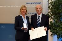 Aushändigung des Bundesverdienstkreuzes an Herrn Johann Bauch am 12.01.2016