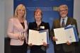 Bild vergrößert sich per Mausklick: Dr. Vesselinka Varbanova Petrova-Koch und Dr. Wolfgang Ochs