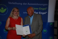Hilmar Wagner und Staatssekretärin Melanie Huml