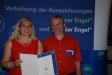 Bild vergrößert sich per Mausklick: Johannes Otto Först und Staatssekretärin Melanie Huml