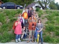 Bayern Tour Natur-Teilnehmer auf dem Weg zu den Probeführungen, Foto (ANL)
