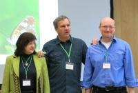 Projektmanagement Team ELENA katalin Czippan, Christian Stettmer, Wolfram Adelmann (ANL), Foto: Peter Sturm