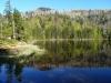 Der Rachelsee, eiszeitlicher Karsee und zugleich der stillste Bayerwaldsee, ist Ziel der Wanderung am Samstag, 16. Juni. (Foto: Dr. Franz Leibl / Nationalpark Bayerischer Wald)