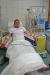 Andreas Hackl während der Stammzellenspende. Bei einer Art Dialyse werden die Stammzellen aus dem Blut zentrifugiert (Foto: Petra Hackl/Nationalparkverwaltung Bayerischer Wald).