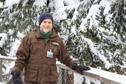 """Waldführer Martin Stadler: """"Die Ausbildung war eine wunderbare Sache – auch, weil dabei alle auf derselben Wellenlänge sind."""" (Foto: Gregor Wolf/Nationalpark Bayerischer Wald)"""
