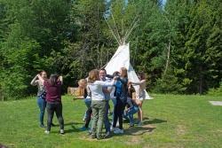 Biodiversität spielerisch zu vermitteln -  einer der Schwerpunkte bei der Lehrerfortbildung im Jugendwaldheim.