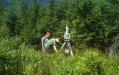 Auf über 50 Standorten im Nationalpark Bayerischer Wald wurden kleine Waldflächen für das Monitoring der Biodiversität zunächst mit Hilfe eines terrestrischen Laserscanners genau vermessen. (Foto: Nationalpark Bayerischer Wald)