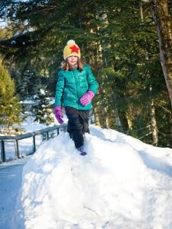 Viel Spaß im Schnee steht beim Faschingsferienprogramm des Nationalparks Bayerischer Wald auf dem Programm. (Foto: Daniela Blöchinger)