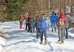 Zum Lindberger Schachten geht's am 18. Februar auf Schneeschuhen. (Foto: Gregor Wolf/Nationalpark Bayerischer Wald)