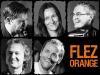 Flez Orange besteht aus Matthias Klimmer (Klarinette, E-Gitarre, Gesang), Veronika Keglmaier (Geige, Gesang), Stefan Fußeder (Akkordeon, Gesang), Jochen Rössler (E-Bass, Gesang) und Maximilian Maier (Schlagzeug, Ukulele, Gesang). (Foto: Flez Orange)