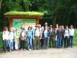 Mitglieder der Kooperation Nationalpark-Partner im Nationalpark Eifel.Foto: Hoppe