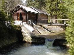 Wassermessstation Taferlruck (Foto: R. Pöhlmann)