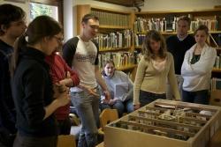 Der deutsch-tschechische Workshop im Waldgeschichtlichen Museum St. Oswald