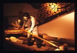 Darstellung der Holztrift in einer früheren Ausstellung (Foto: Archiv WGM)