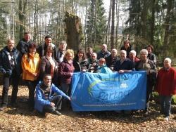 Nationalpark-Partner auf Tour durch das Weltnaturerbe Serrahn im Müritz-Nationalpark