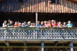 Wildnis hautnah erleben konnten die 20 Jugendlichen auf der Tummelplatzhütte im Nationalpark Bayerischer Wald