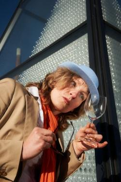 Fräulein Trudi alias Gerti Gehr (Foto: Marco Felgenhauer)