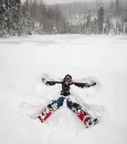 Spannung, Spiel und Abenteuer sind wichtiger Bestandteil des Kinderprogramms im Nationalpark Bayerischer Wald
