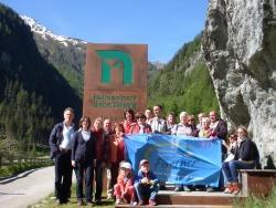 Die Nationalpark-Partner bekamen nicht nur Eindrücke der Natur der Hohen Tauern, sondern lernten auch dortige Partnerbetriebe kennen.Foto: Archiv NPV