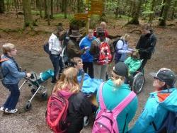 """Die Schüler der Christophorusschule erkunden den Nationalpark und helfen bei der Ausarbeitung des Führungsprogramms """"Nationalpark für Alle"""""""