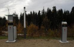 Dritter Standort für E-Wald Ladestationen am Parkplatz Haus zur Wildnis in Ludwigstahl