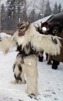 Mischen auch dieses Jahr wieder den Nationalpark auf: Die Koishüttler Lousnachtgeister.