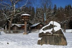 Sorgt für besonderes Leuchterlebnis zum Frühlingsanfang: die Felsensonnenuhr beim Schwellhäusl (Foto: NPV Bayerischer Wald)