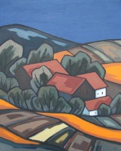 Gehöft unter Feldern, Herbert Muckenschnabl