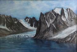 Fjord, Pastell (Fotos: Gerhard Michel)