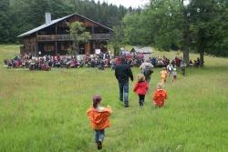 Buntes Treiben auf dem Tummelplatz: Das Tummelplatzfest 2014 bietet auch in diesem Jahr eine gelungene Mischung aus Unterhaltung und Information