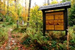 Die Menge und Qualität der Wanderwege im Nationalpark sowie ihre Beschilderung findet großen Anklang bei den Besuchern des Nationalparks.