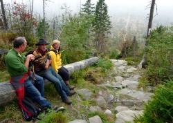 """""""Kraft tanken"""" und """"Naturerlebnis"""" zählen zu den wichtigsten Gründen, den Nationalpark zu besuchen. Die besonderen und zum Teil ungewohnten Waldlandschaften des Nationalparks stehen dabei nicht im Konflikt mit Besuchererwartungen und -wünschen."""