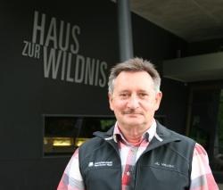 Reinhold Weinberger leitet seit Oktober 2015 das Haus zur Wildnis