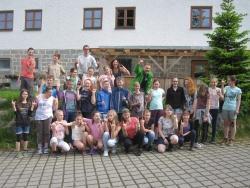 Sächsische Schüler zu Gast im Jugendwaldheim des Nationalparks Bayerischer Wald (Foto: NPV)