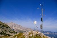 Eine Klimastation im Nationalpark Berchtesgaden