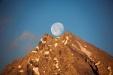 Watzmann und Mond