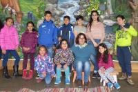 Kinder im Bildungszentrum