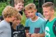 Beim Mediencamp des Nationalparks Berchtesgaden gingen zehn Jugendliche vier Tage lang unter fachkundiger Anleitung auf Film- und Fotopirsch rund um die Kühroint-Alm.